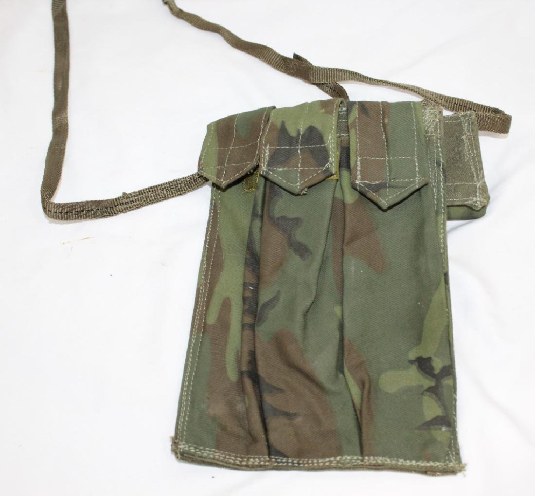 Military Magazine Belt Holder with Field Dressing