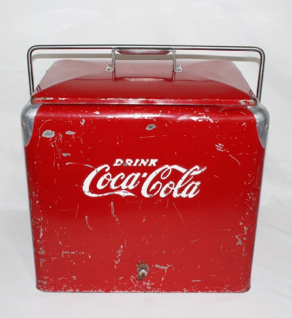 1950s Coca Cola Cooler - Progress Refrigerator Original
