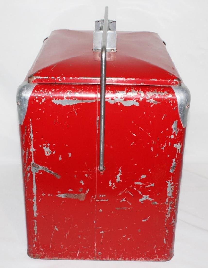 1950s Coca Cola Cooler - Progress Refrigerator Original - 2