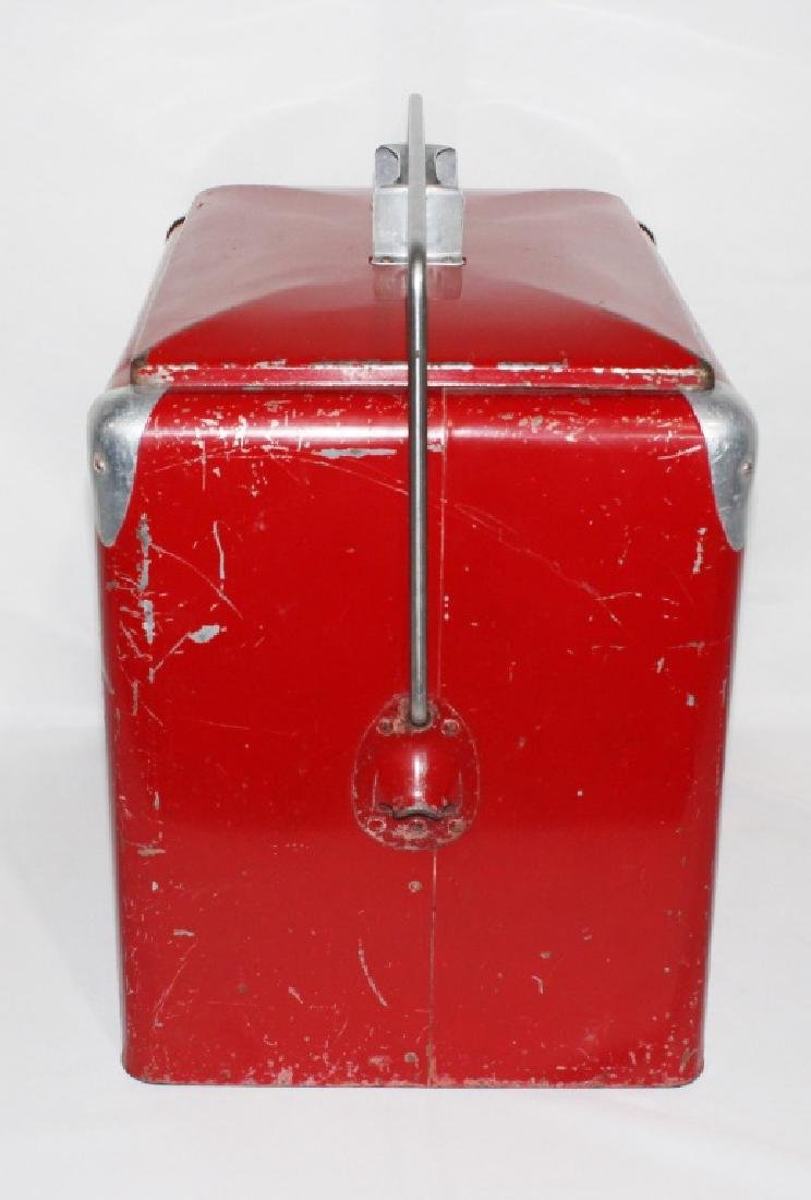 1950s Coca Cola Cooler - Progress Refrigerator Original - 4