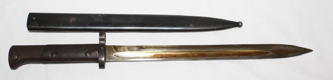 WW2 Bayonet Czech - CSZ K Marked - 15 inch - 3
