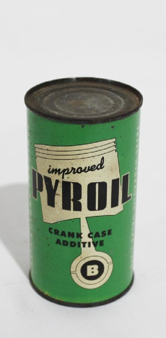 Pyroil Crank Case Additive Vintage Tin Can