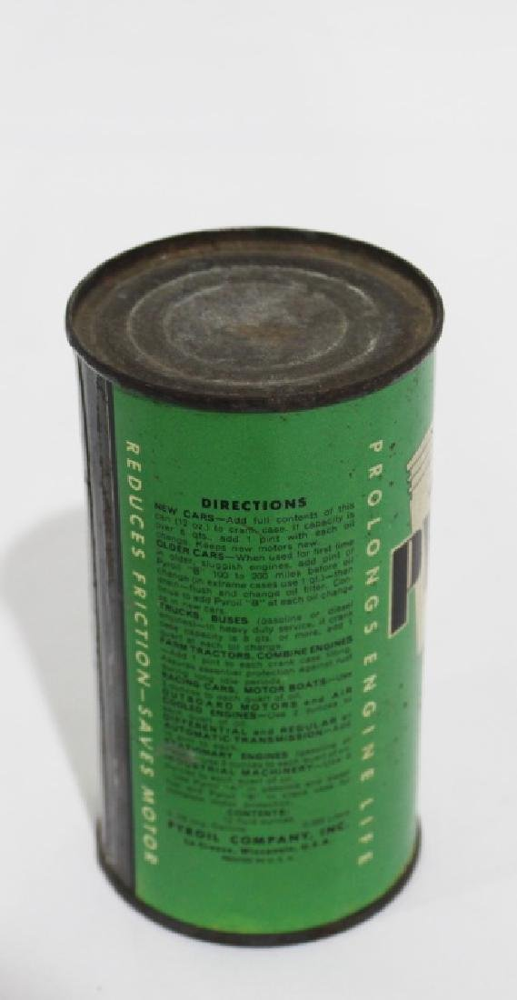 Pyroil Crank Case Additive Vintage Tin Can - 3