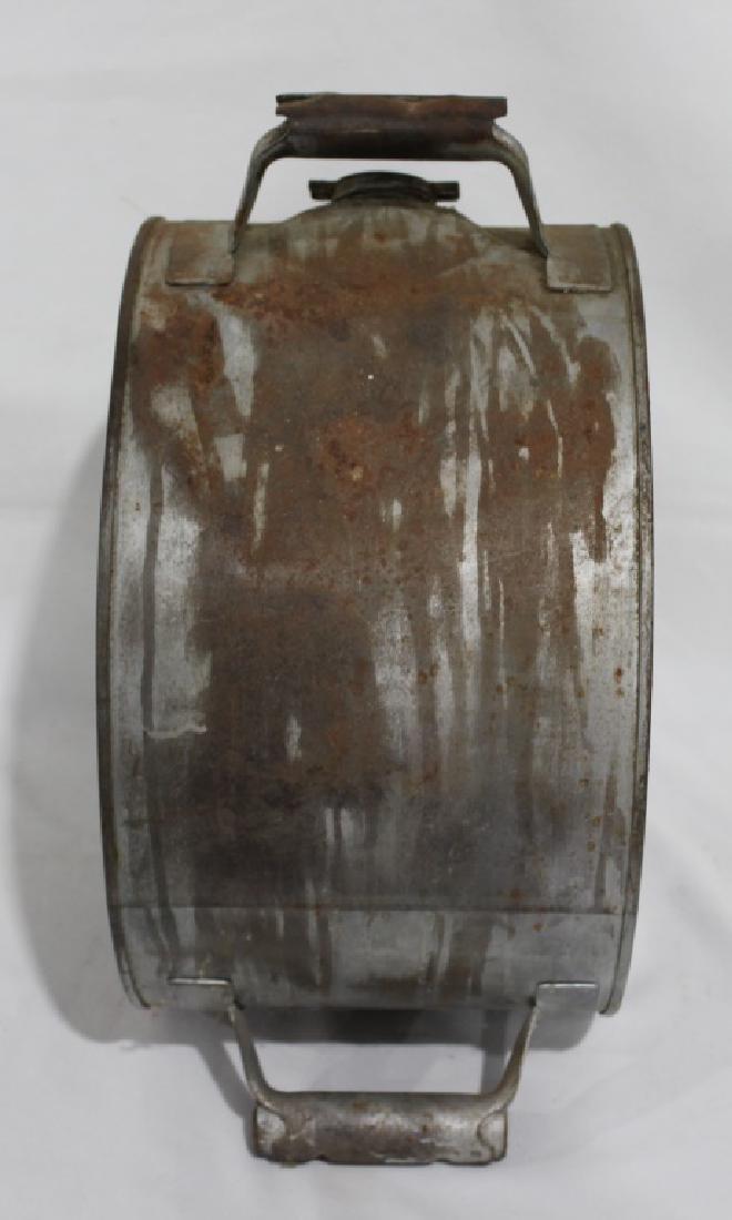 Vintage 2-sided Tiolene Motor Oil - 5 Gallon Rocker Can - 4