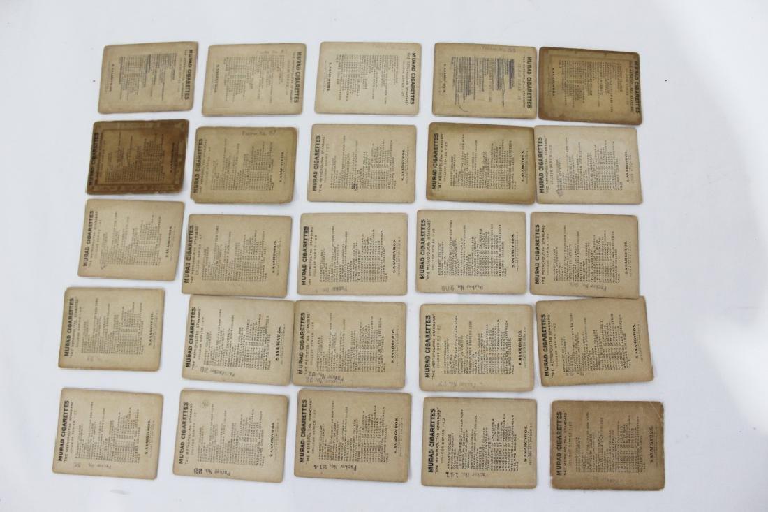 Murad Cigarette Cards - College Series Set 1-25 - 2