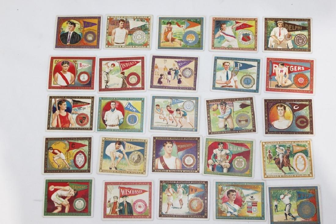 Murad Cigarette Cards - College Series Set 26-50