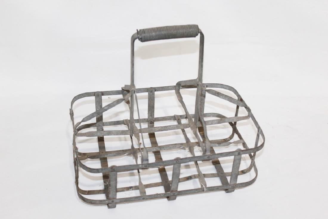 Vintage 6 Bottle - Oil Quart Bottle Carrier