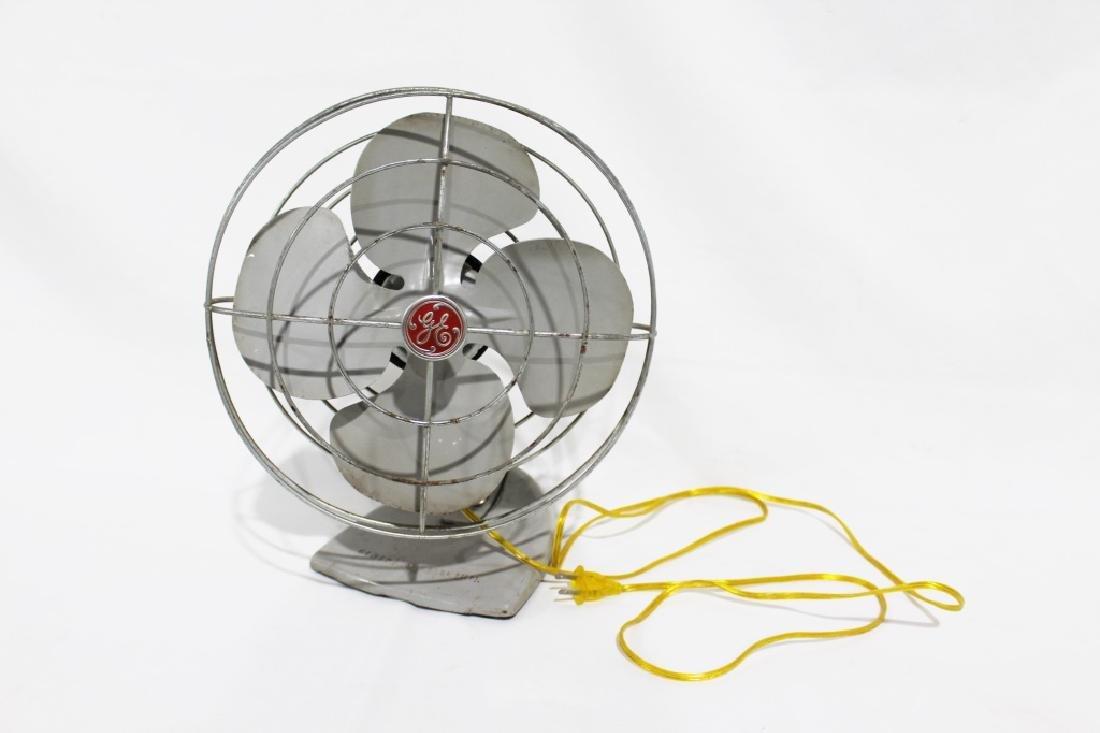 1950s GE Oscillating Desk/Table Fan