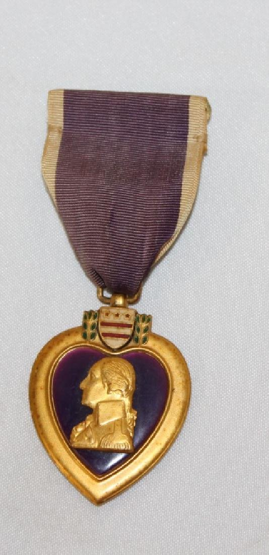 Purple Heart Medal - For Exhibit Only