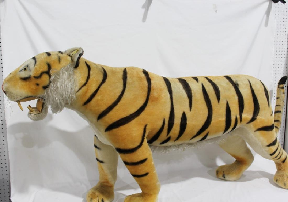 1950s Steiff Large Store Display Growling Tiger