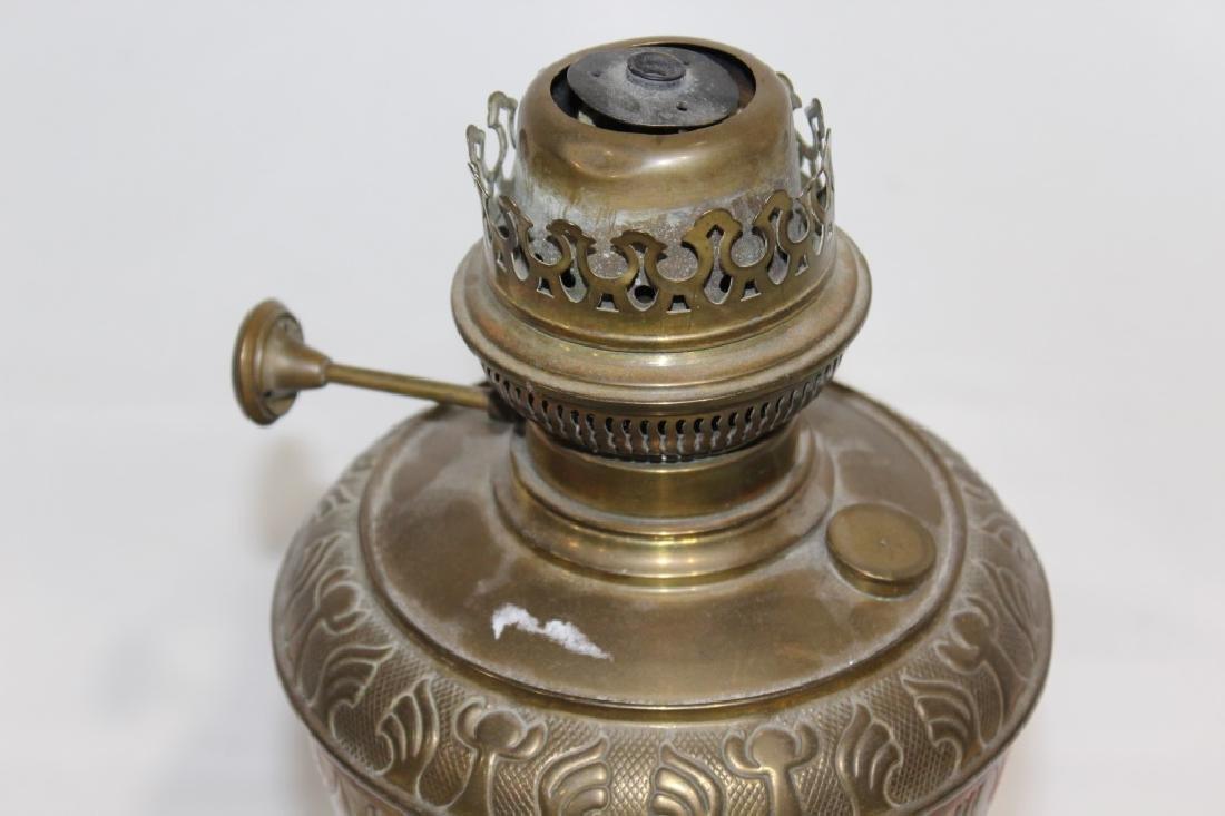 Unique metal oil lamp base - 2