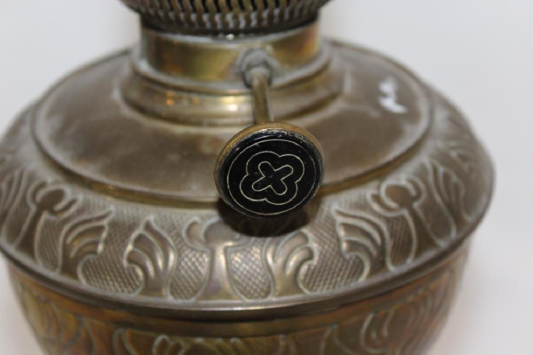 Unique metal oil lamp base - 3