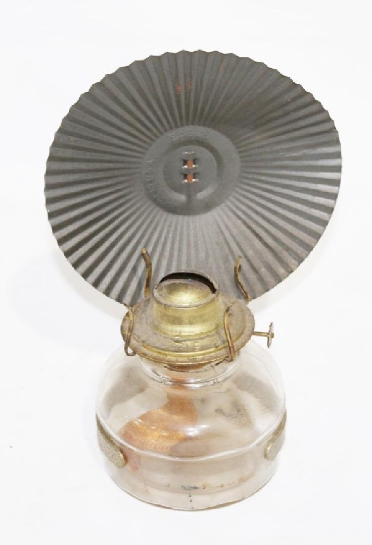oil Lamp with eagle lamp reflector