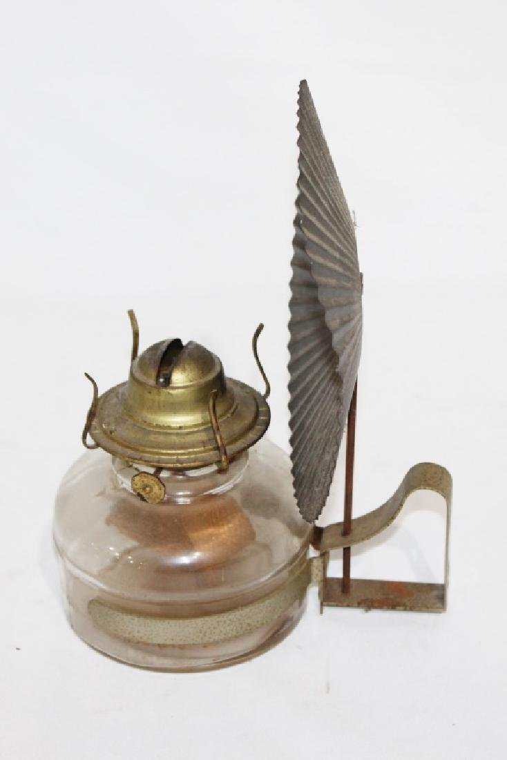 oil Lamp with eagle lamp reflector - 2