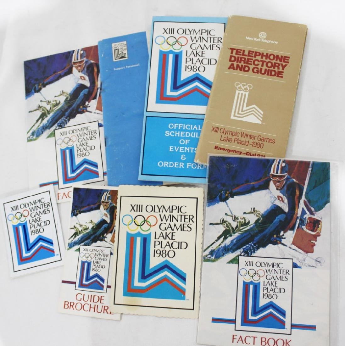 1980 Olympic Misc. Lot