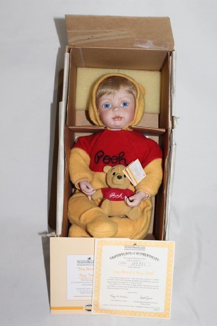 Ashton Drake - You need Hug Pooh Doll