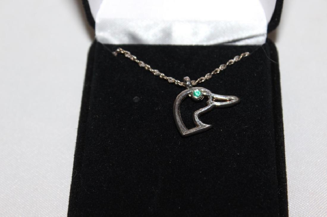 Ducks Unlimited Necklace & Earrings - 2