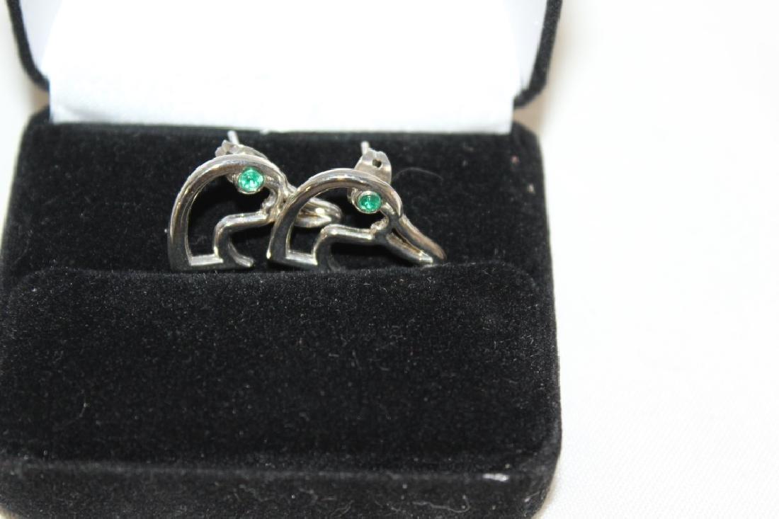 Ducks Unlimited Necklace & Earrings - 3