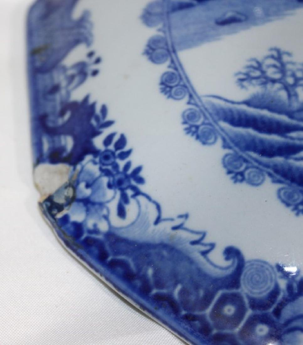 Blue Willow Soup Tureen with Hogs Head - 3
