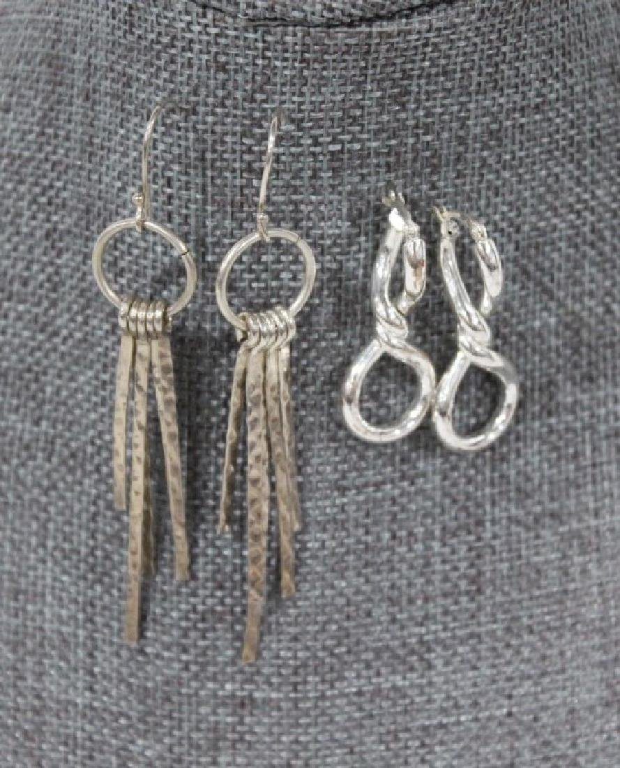 Lot of 3 Sterling Silver Earrings - 2