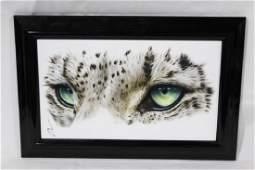 Adam Scott Rote - The Wild Ones Snow Leopard Eyes