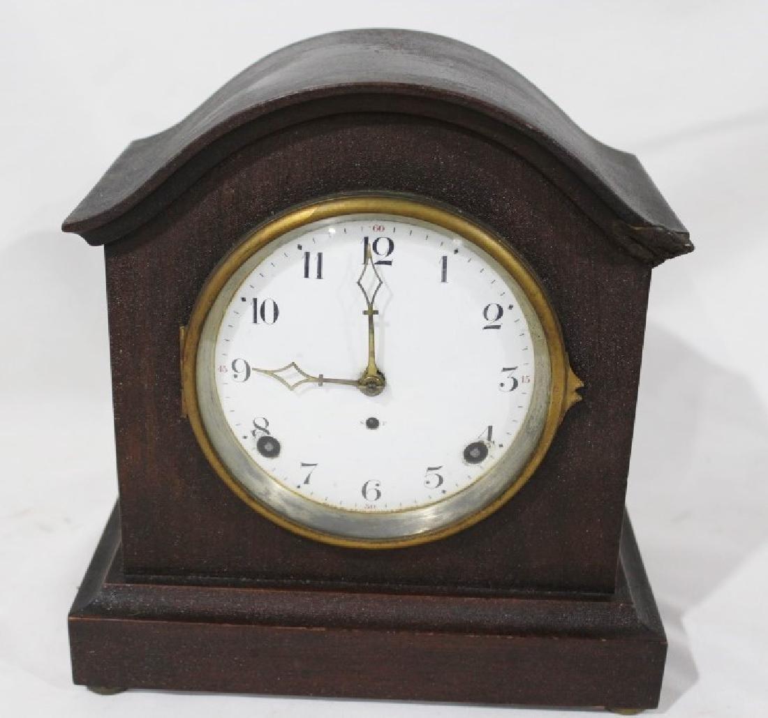 Antique Mahogany Seth Thomas Mantle Clock with Key