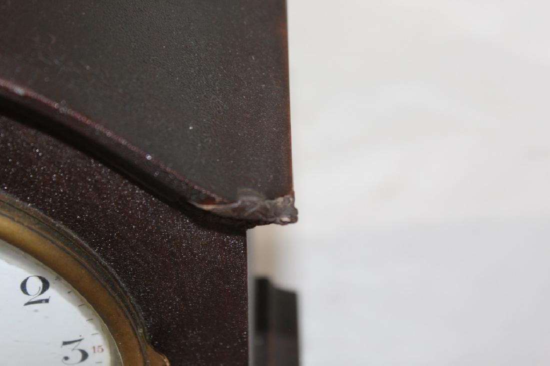 Antique Mahogany Seth Thomas Mantle Clock with Key - 5