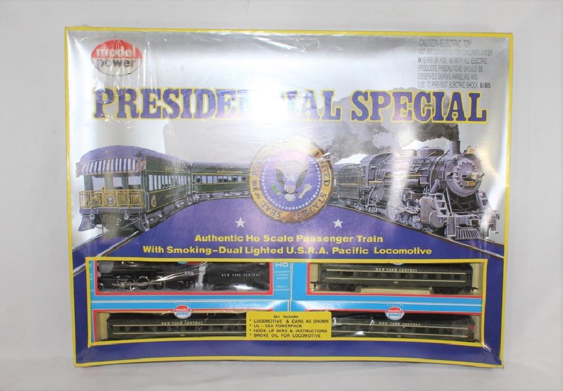 Presidential Special Passenger Train Set w/ Locomotive - Jul 28