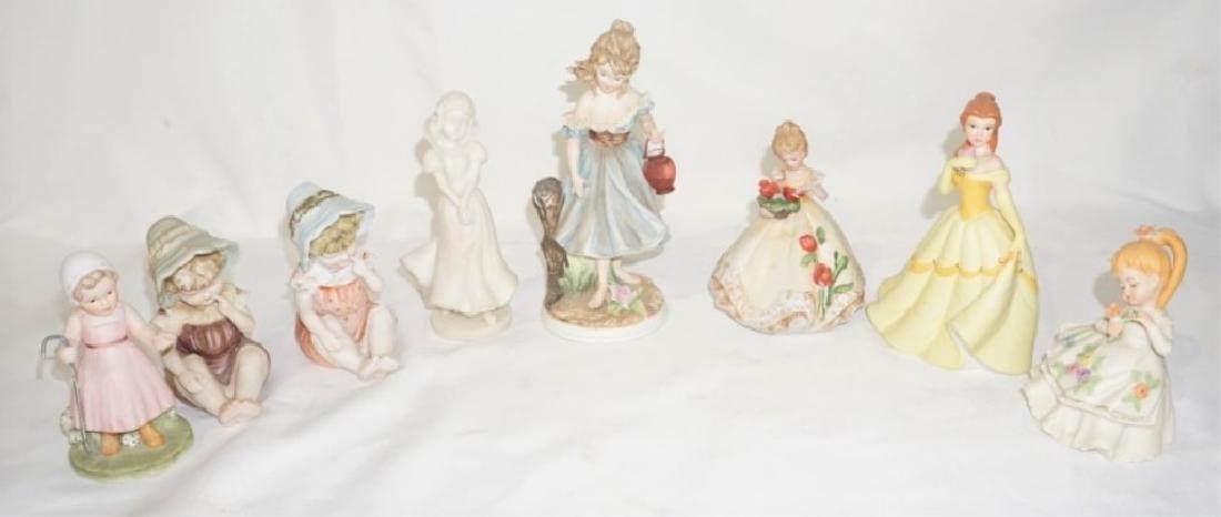 Lot of Ceramic Figurines w/ Lefton & Disney