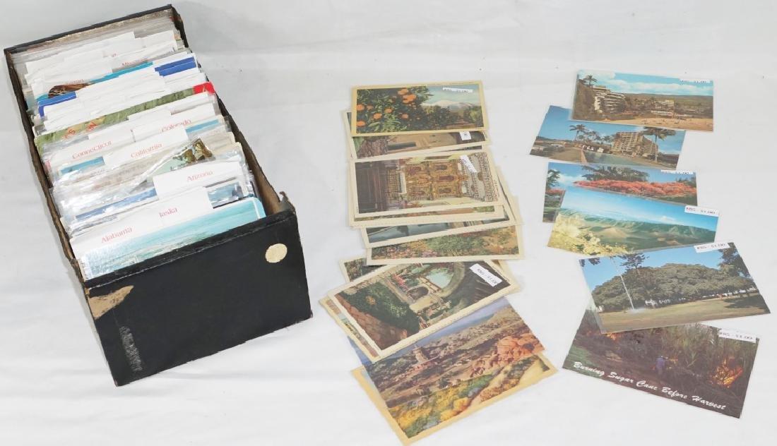 Large Lot of Misc Vintage Postcards AL-NJ
