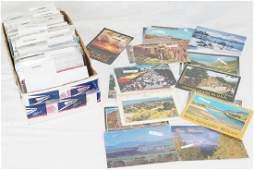 Large Lot of Misc Vintage Postcards MTWY