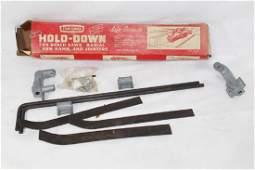 VTG Sears Craftsman Hold Down w Original Box