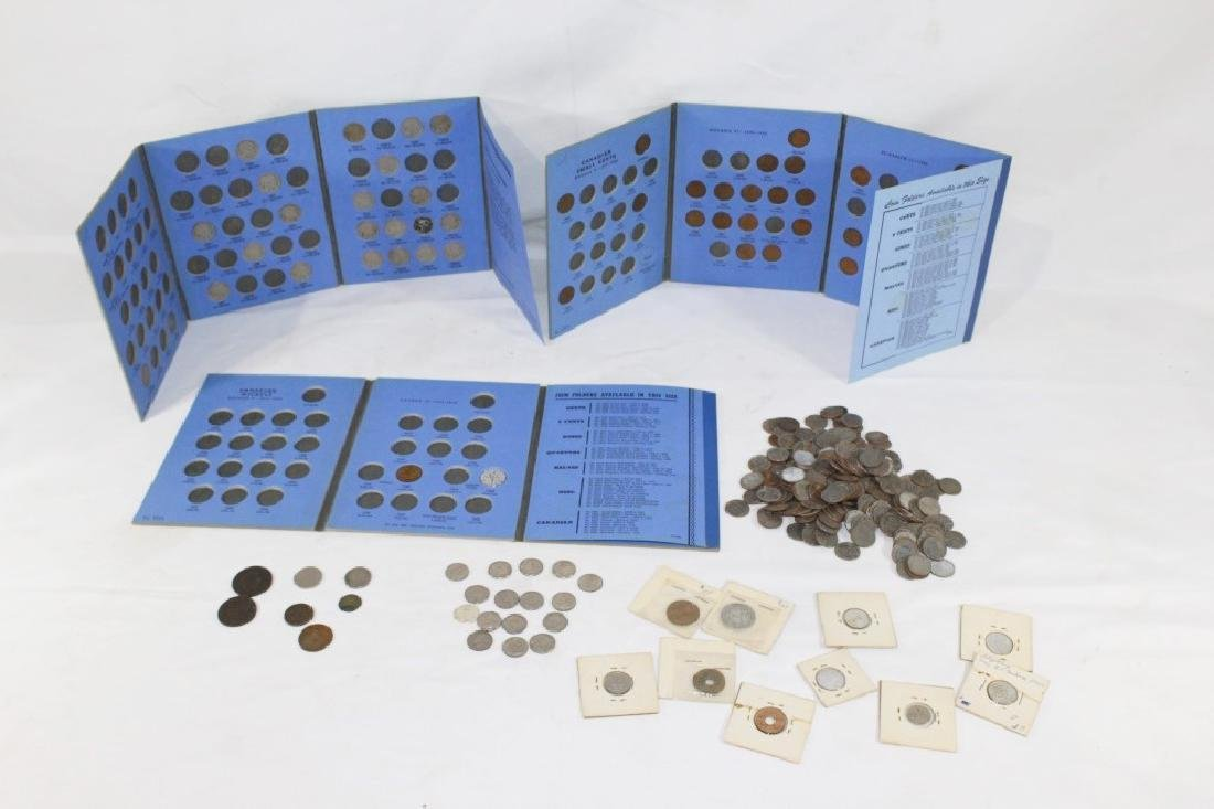 Large Lot of VTG, Antique and Foreign Coins