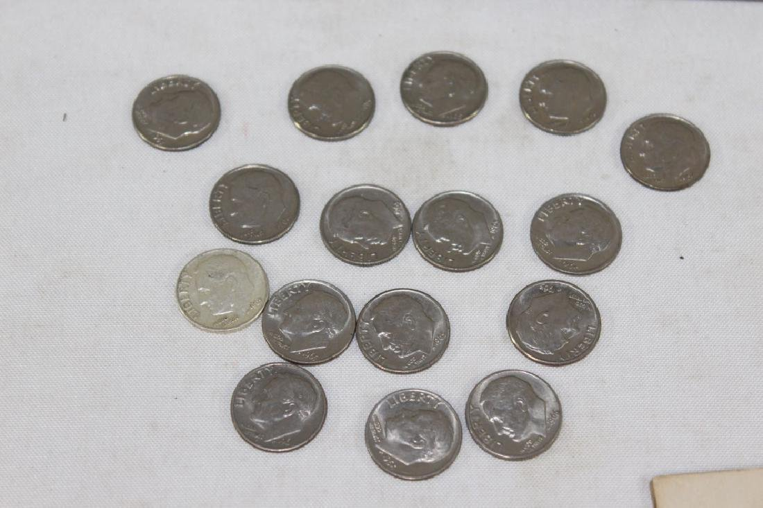 Large Lot of VTG, Antique and Foreign Coins - 4