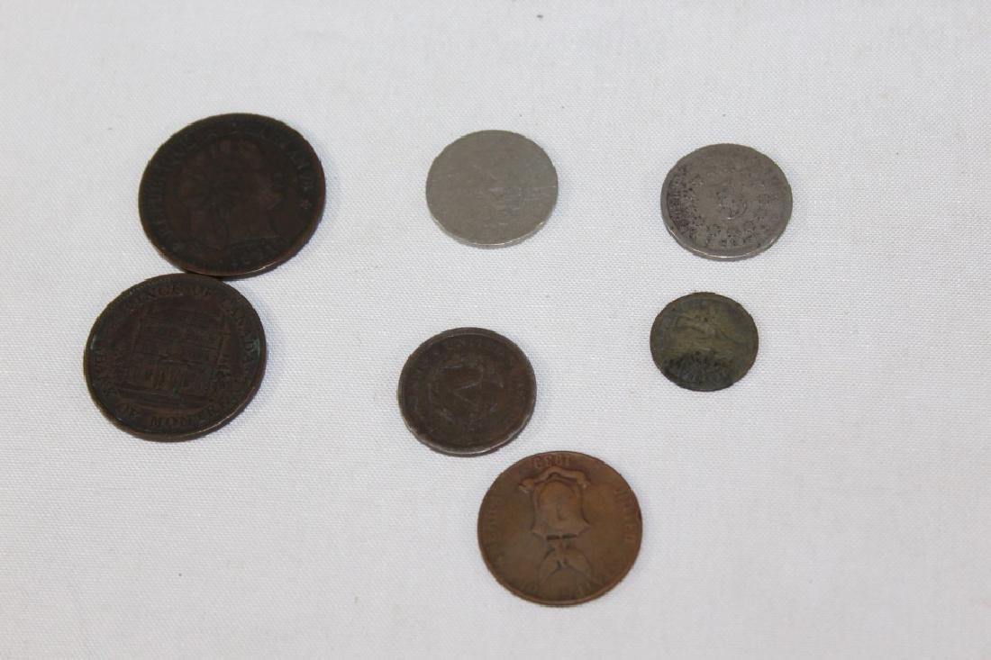 Large Lot of VTG, Antique and Foreign Coins - 5