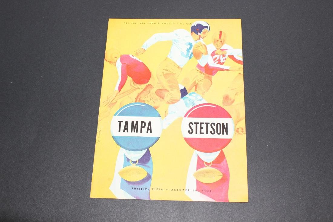 1952 - Tampa University vs. Stetson University Football