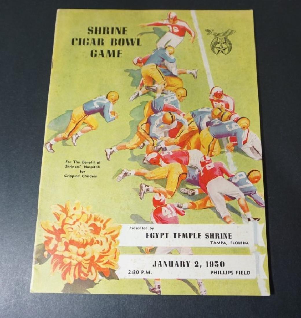 1950- Wofford vs. Florida State Football Program