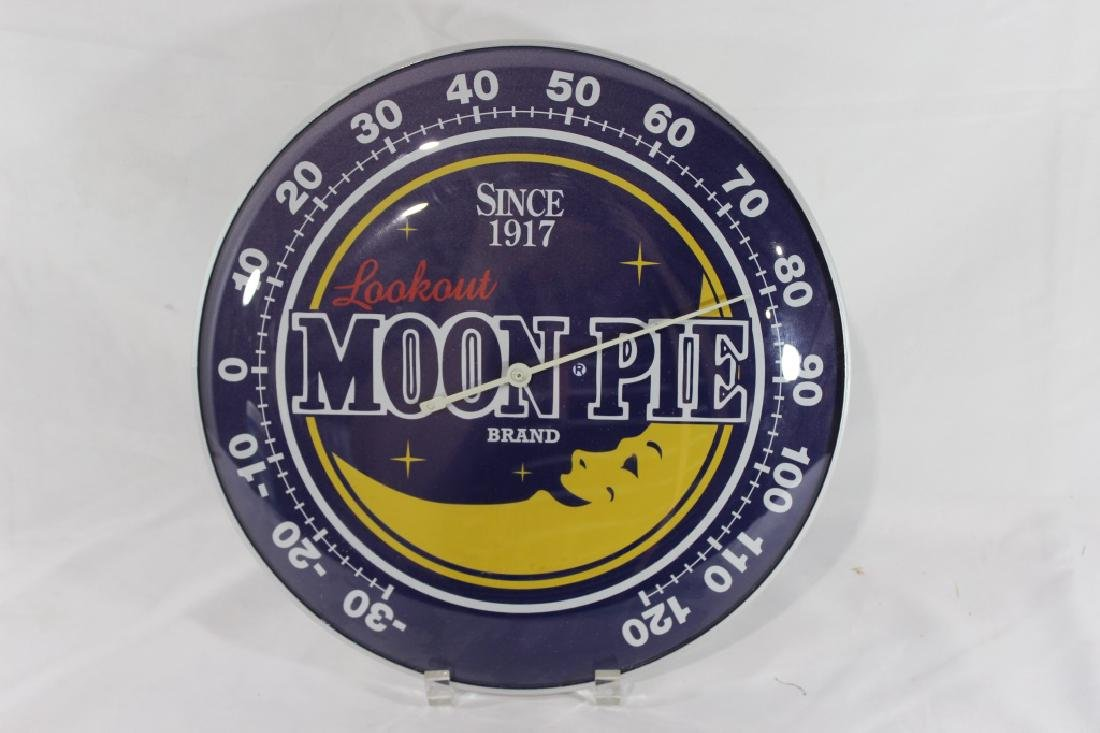 Moonpie Wall Mount Thermometer