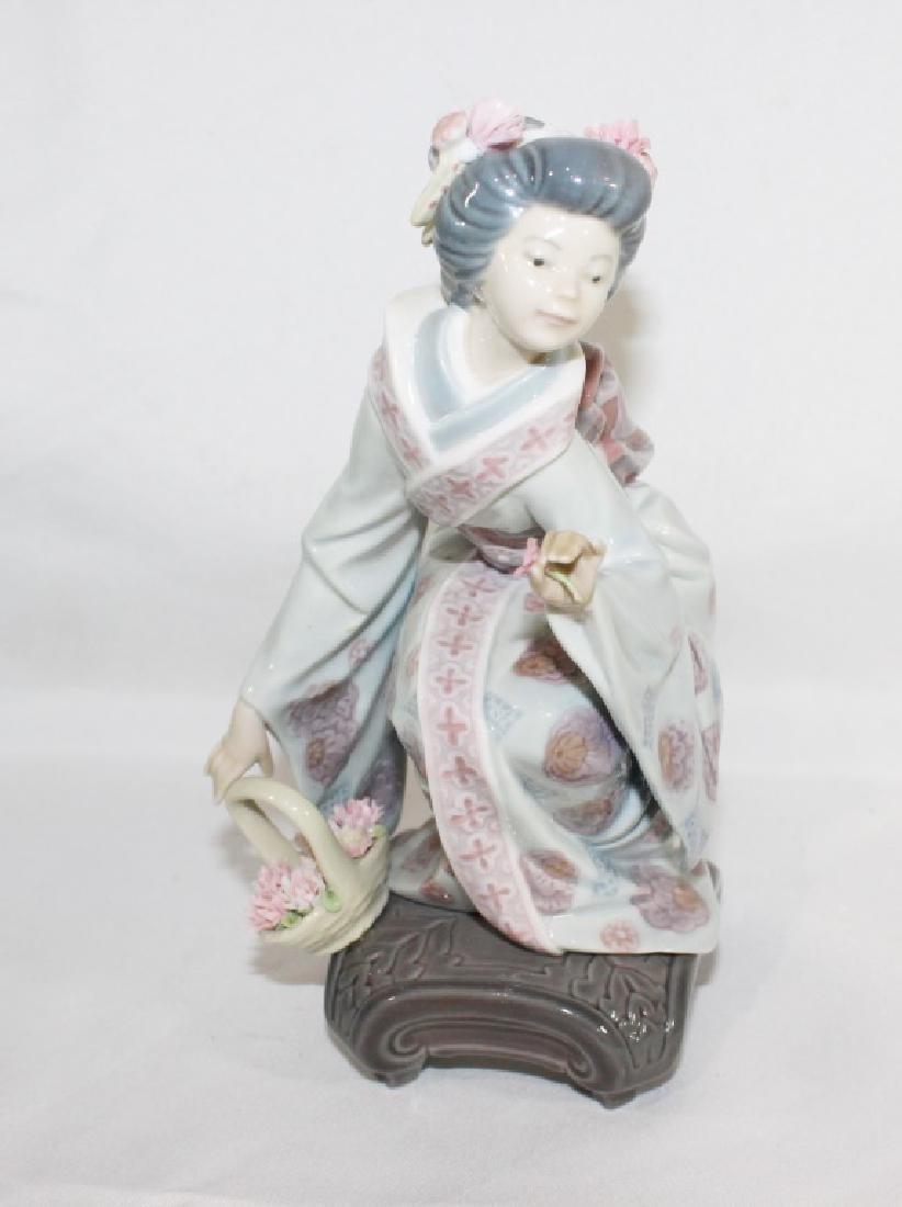 Lladro No 1448 - Japonesita en cuclillas - 2