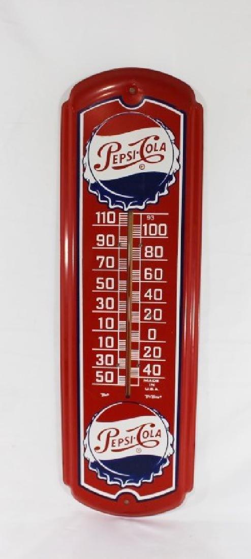Pepsi-Cola Wall Mount Tru-Temp Thermomemter