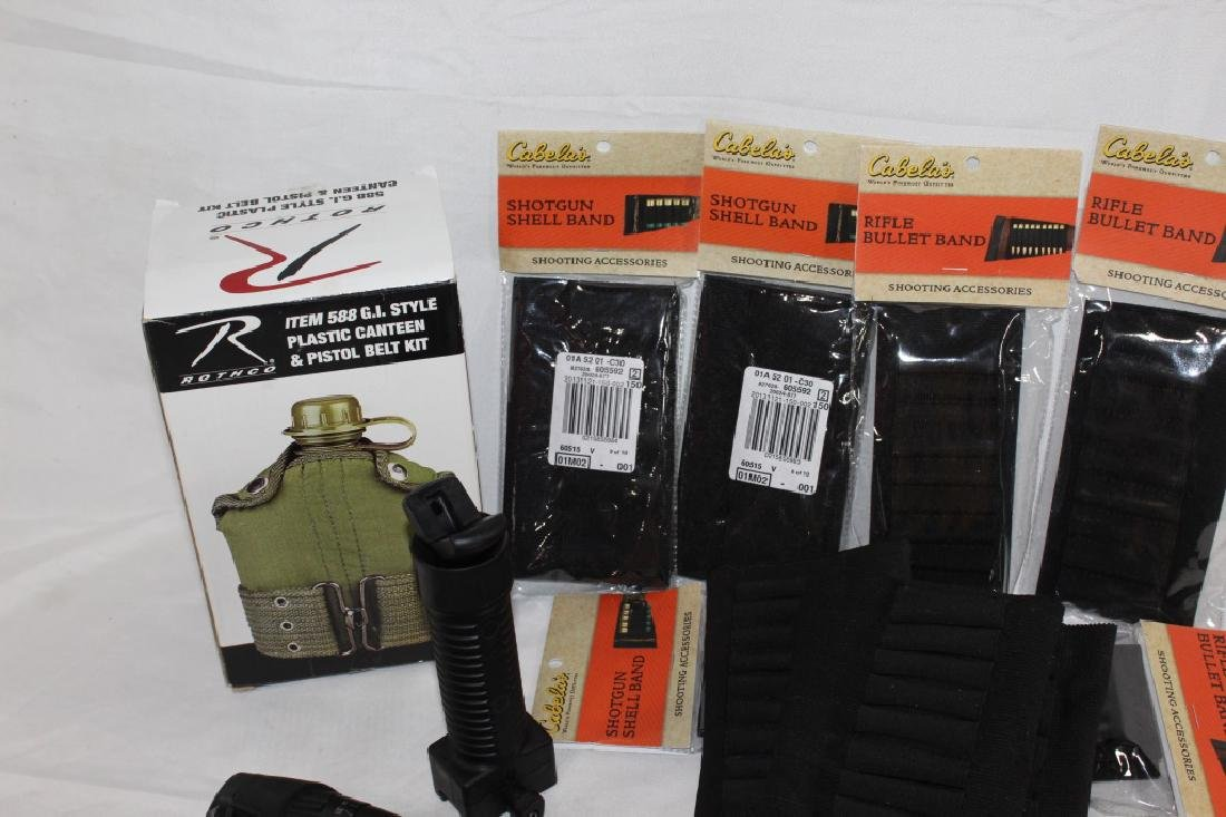 Gun Accessories Lot w/ Center Point Scope - 4