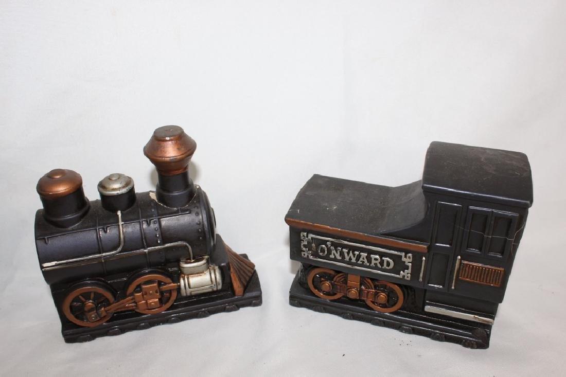 VTG Toy Train Lot & Train Bookends - 5