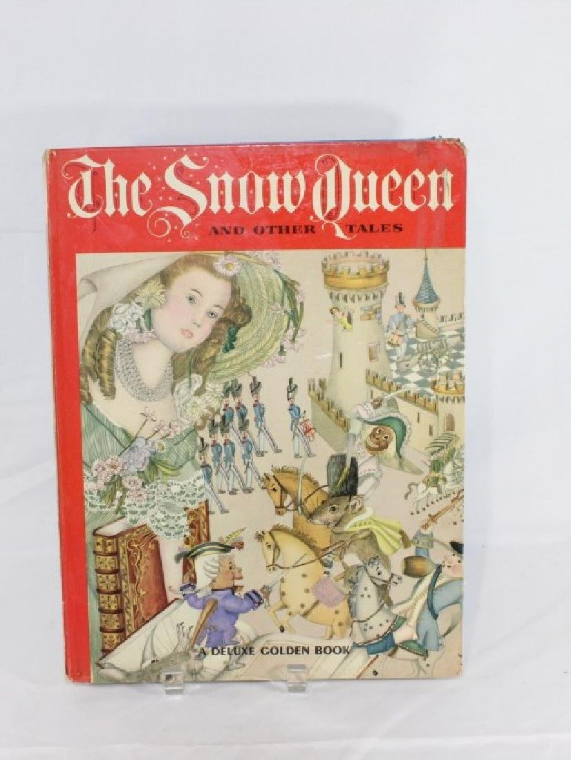 1961 The Snow Queen and Other Tales Deluxe Golden Book