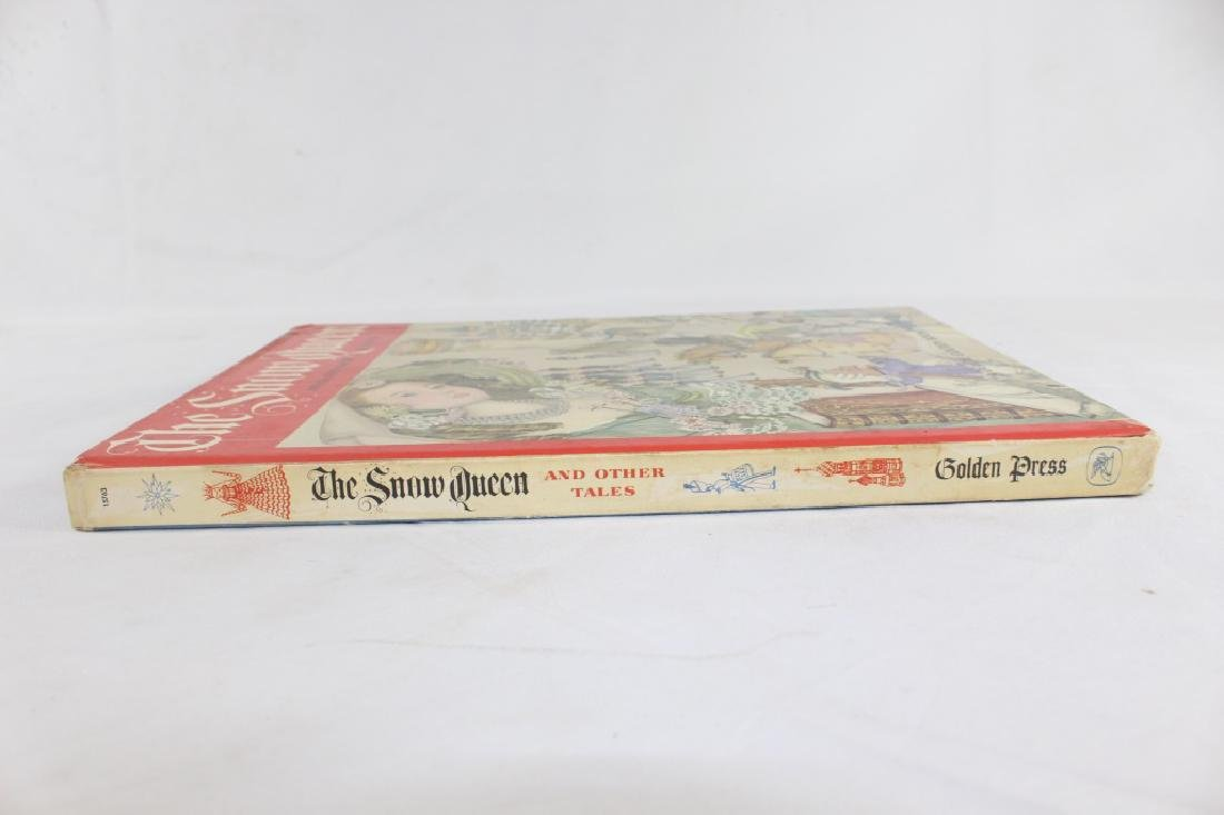 1961 The Snow Queen and Other Tales Deluxe Golden Book - 3