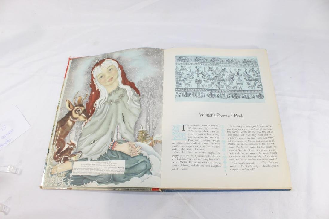1961 The Snow Queen and Other Tales Deluxe Golden Book - 5