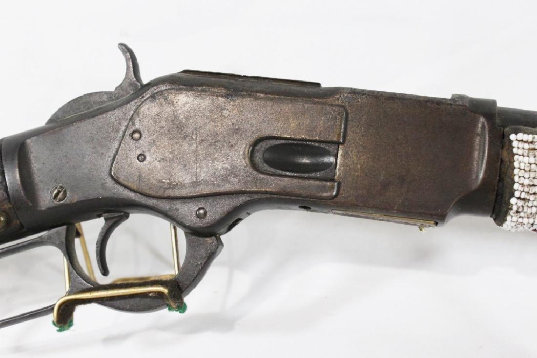 Unique Winchester Model 1873 Repeating Rifle - 3