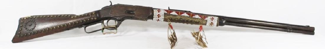Unique Winchester Model 1873 Repeating Rifle - 9
