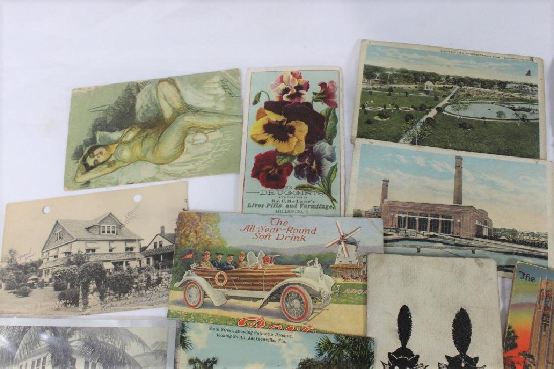 Misc Lot of Postcards -  Florida, Plymouth & Marseille - 2