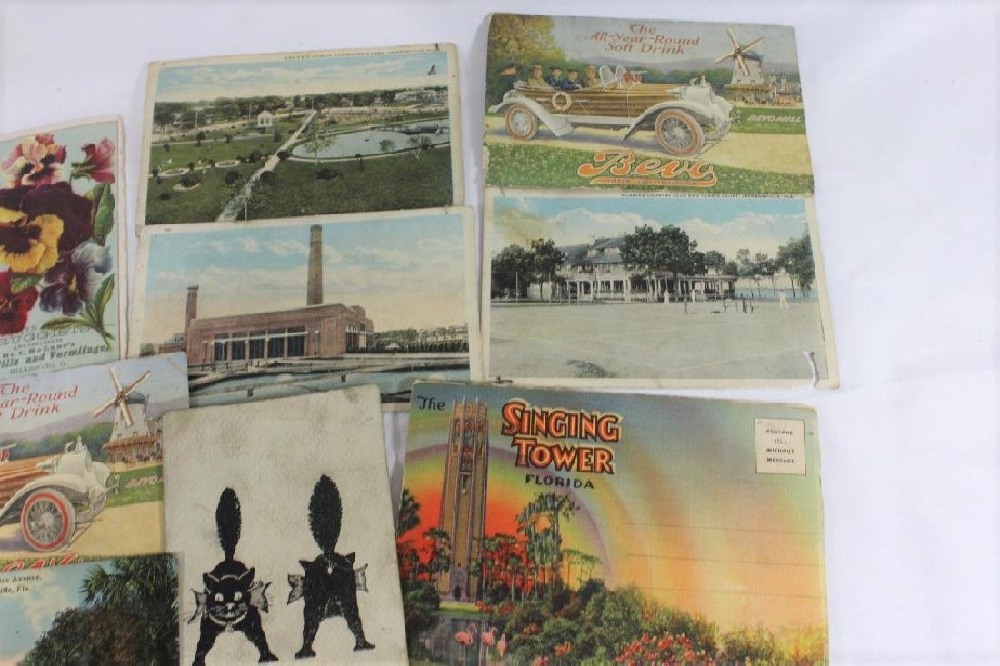 Misc Lot of Postcards -  Florida, Plymouth & Marseille - 3