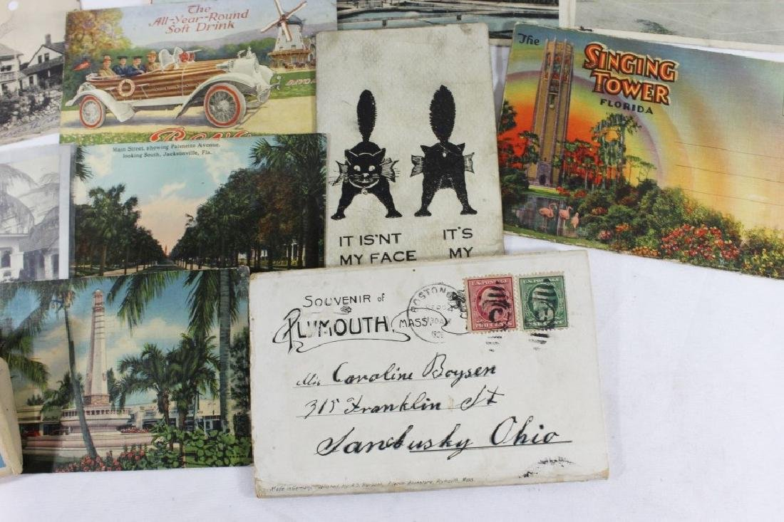 Misc Lot of Postcards -  Florida, Plymouth & Marseille - 4